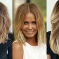 Балаяж на русяве волосся: фото, види, техніка