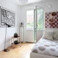 Дизайн маленької спальні 9 кв.м - фото, меблі, кольори
