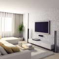 Які шпалери вибрати для залу, щоб кімната здавалася більше: фото, дизайн