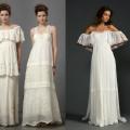 Модні весільні сукні в стилі «бохо»