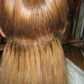 Нарощені волосся
