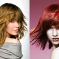 Жіночна стрижка рапсодія на середні волосся (фото)