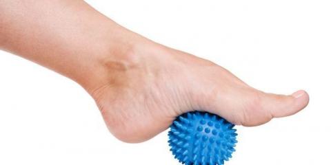 Базові вправи для голеностопа
